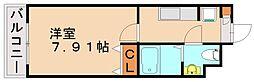 第21川崎ビル[2階]の間取り