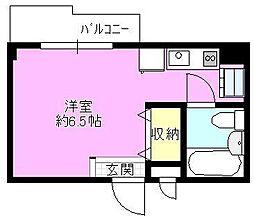 星座館[3階]の間取り