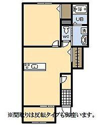 (新築)パーク・ハイム[104号室]の間取り