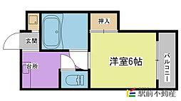 宮崎コーポ[108号室]の間取り