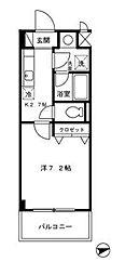 GLOIREMANSION(グロワールマンション)[4階]の間取り