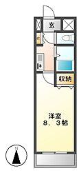 H・O・M・E・S・伊勢山[4階]の間取り