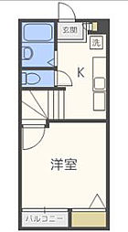 リックメゾン[2階]の間取り