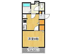 兵庫県神戸市垂水区五色山7丁目の賃貸アパートの間取り