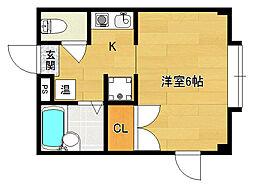小華マンション[305号室]の間取り