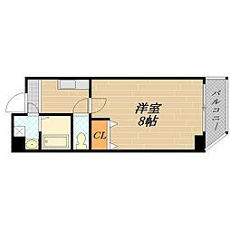 ETC清水駅前[6階]の間取り