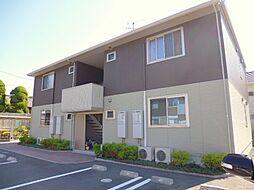 岡山県倉敷市児島田の口4丁目の賃貸アパートの外観