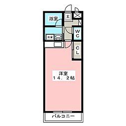 ライトメロウ[3階]の間取り