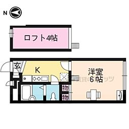 山陰本線 円町駅 徒歩4分