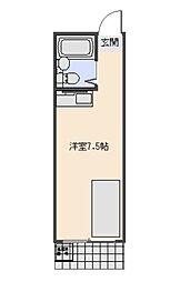 モナークハイムII[103号室号室]の間取り