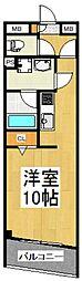 メープルハイツ[2階]の間取り