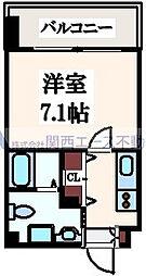 JP レジデンス大阪城東ll[6階]の間取り