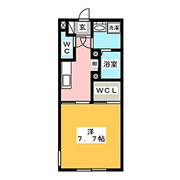 LUORE名駅[5階]の間取り