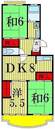 エクセルエステートヨシダ2[3階]の間取り