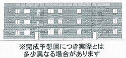 セカンドコート A棟[1階]の外観