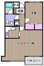 プラネット永山[2階]の間取り