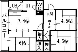 月寒中央駅 4.0万円