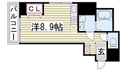 Kitano Flats Plus[403号室]の間取り