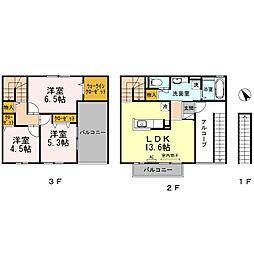 グランアヴァンティII A棟[2階]の間取り