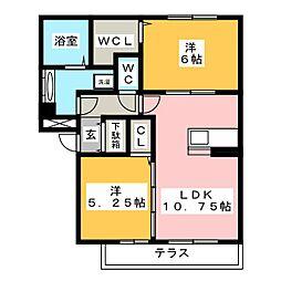 仮)D−room半田市大高町A棟[1階]の間取り