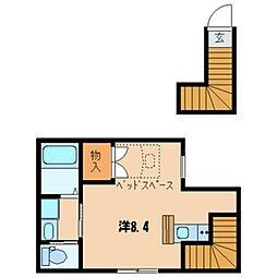 ラ・グランドール[2階]の間取り