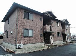 福岡県北九州市八幡西区真名子2丁目の賃貸アパートの外観