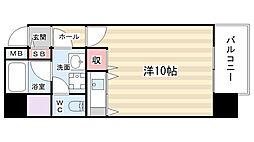 パラーティ21塚本[9階]の間取り