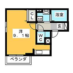 T.Section[2階]の間取り