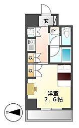 プログレンス栄[7階]の間取り