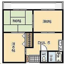 第1小野ビル[303号室]の間取り