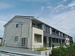 滋賀県近江八幡市中小森町の賃貸アパートの外観
