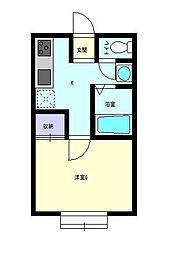 Sakura[105号室]の間取り