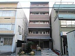 京都府京都市上京区新猪熊町の賃貸マンションの外観