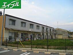 内田アパート[1階]の外観