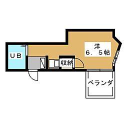 カーサ上社[4階]の間取り