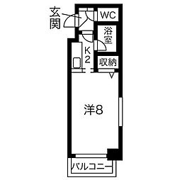 KWビル壱番館[2階]の間取り