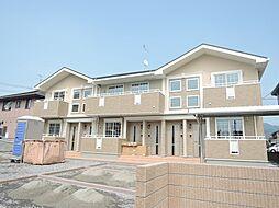 福岡県北九州市八幡西区北筑2丁目の賃貸アパートの外観
