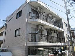東京都府中市武蔵台2丁目の賃貸マンションの外観