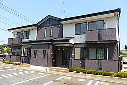 茨城県ひたちなか市大字津田の賃貸アパートの外観