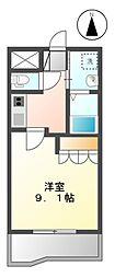 プロニティII[2階]の間取り