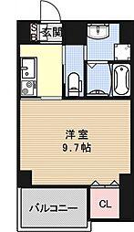 ヴェルデ御所東[502号室号室]の間取り