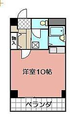 小倉ハイツ[102号室]の間取り