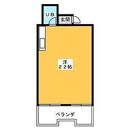 シャトー村瀬I[2階]の間取り