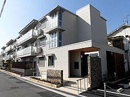 大阪府八尾市二俣1丁目の賃貸アパートの外観