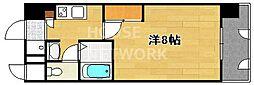 COLOR 13 SHIMOGAMO[205号室号室]の間取り