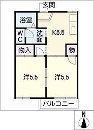 コンフォート21 A棟[1階]の間取り