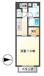 Surplus M's HILL[2階]の間取り