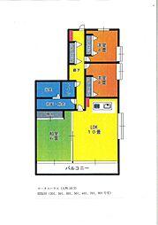 ロータスハウス3階Fの間取り画像