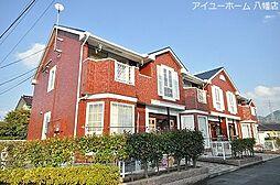 福岡県北九州市八幡西区中の原3丁目の賃貸アパートの外観