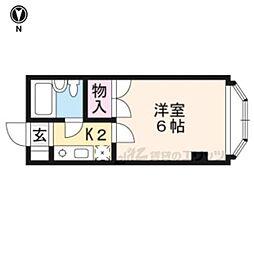 京福電気鉄道北野線 等持院駅 徒歩5分